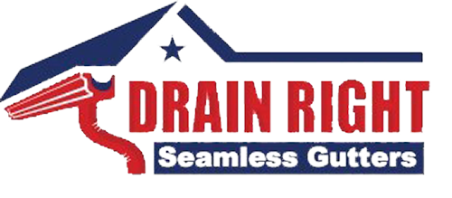 Drain Right Seamless Gutters | Logo